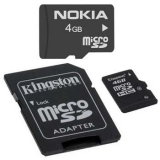 4GB Micro SDHC Kingston class 4